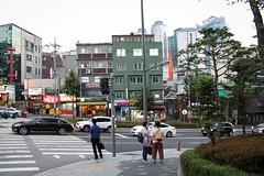 My Neighbourhood (PhotoWY) Tags: seoul busan traditional korean food seafood cafes park palaces flower