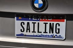 SAILING (caboose_rodeo) Tags: 458 licenseplate texas thelonestarstate pastime hobby