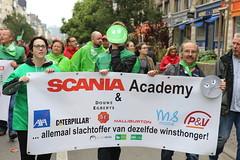 Nationale betoging  29/09/2016  Manifestation nationale (solidair(e)_org) Tags: brussel bruxelles vakbonden syndicats winsthonger lbc cne