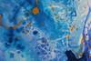 Trial Fluid Painting (JessCurtisART) Tags: artstudent fadstudent summerwork experiment calm chaotic juxtaposition oxymoron paradox fluidpainting abstract contemporaryart youngartist aspiringartist cooltones texture