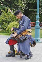 Hungarian Street Musician (Ellsasha) Tags: musicians hungary budapest centraleurope hurdygurdy tekerlan teker kintorna streetorgan music instrument musicalinstrument