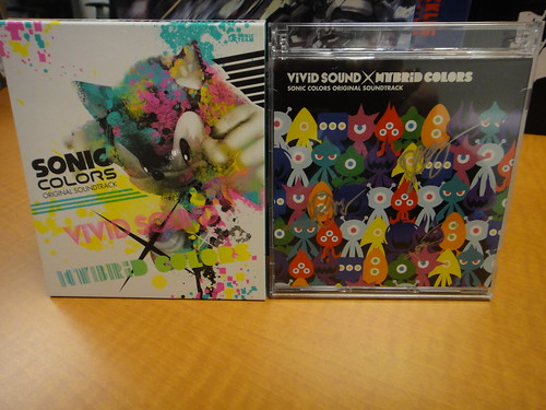 Sonic Colors Soundtrack from Japan