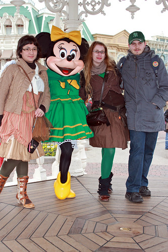 With Irish Minnie
