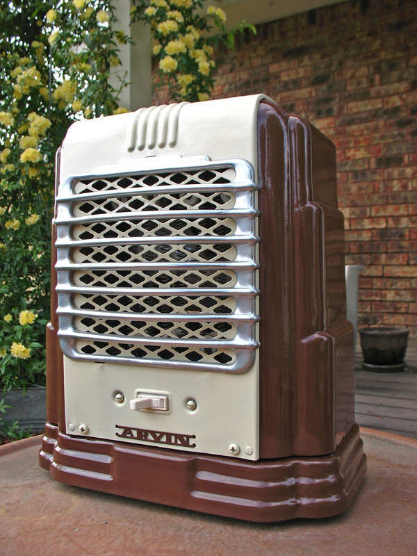 Arvin heater after