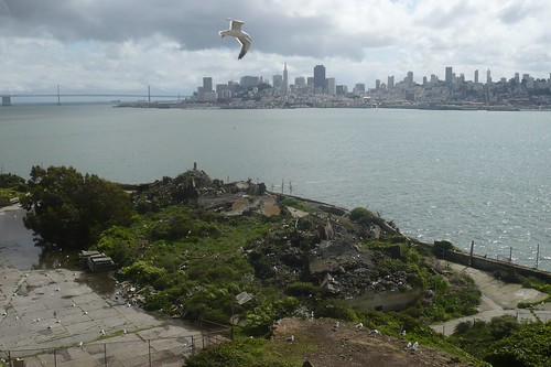 Alcatraz -- ruins from the military prison days