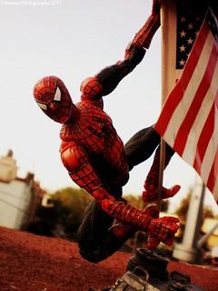 Who am I? I'm Spider-Man