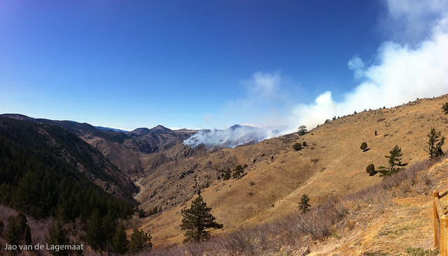 Indian Gulch fire