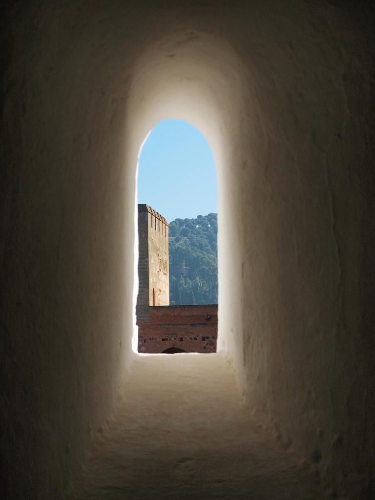 Tronera en La Alhambra