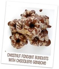 Chestnut Fondant Bundlets with Chocolate Ganache - Jamie (Lifes a Feast)