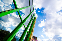 clouds (Tafelzwerk) Tags: sky reflection building art museum clouds nikon museumofart kunst kultur culture himmel wolken sigma wideangle architektur reflexion gebude galery kunstmuseum weitwinkel staatsgalerie stuttgartkunstmuseum achtecture d7000 nikond7000 sigma816mm tafelzwerk tafelzwerkde