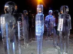 Ice people (Dzhefris) Tags: winter sculpture ice jelgava