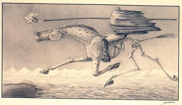 Alfred Kubin - Starvation (Famine), ca. 1901