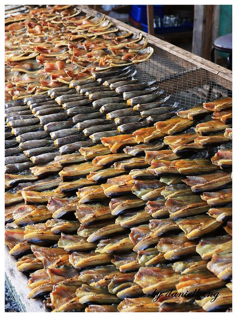 Salted fish....
