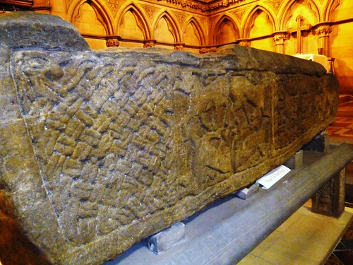 Sarcophagus at Govan Old Church