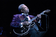 BB King at the NIU Convo Center