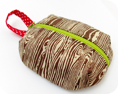 Woodgrain Ditty Bag
