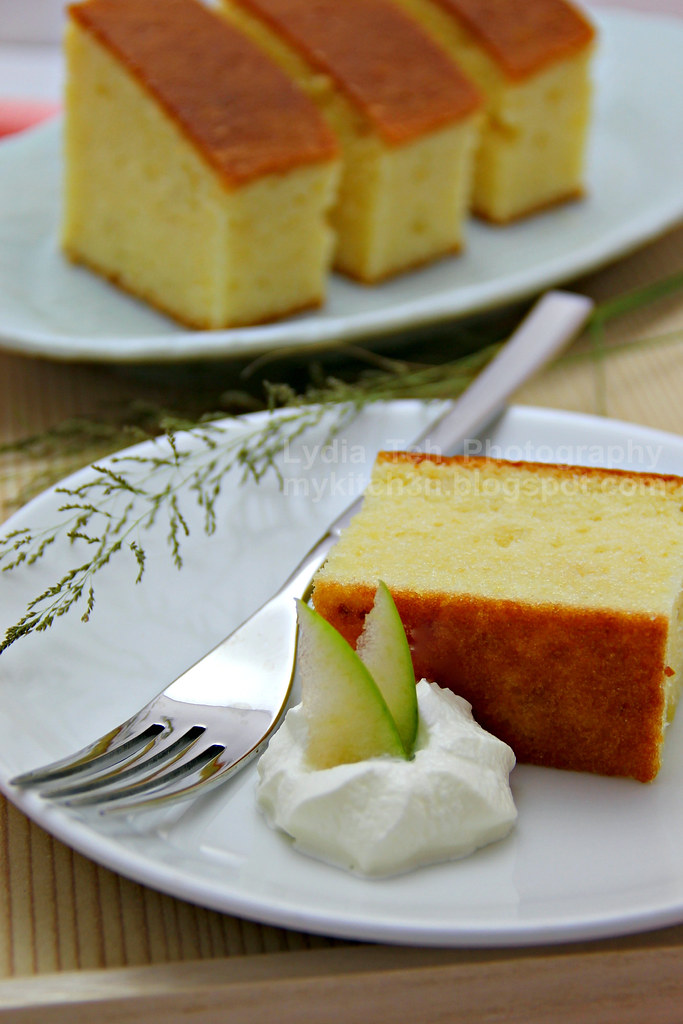 Durian Pound Cake Recipe