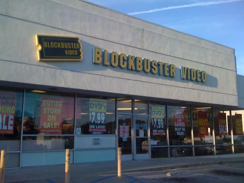ブロックバスターの閉店セール