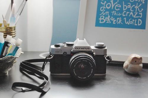 olympus omG 35mm SLR