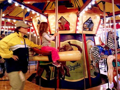 E on Royals Carousel