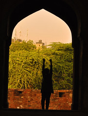 resolves (parth joshi) Tags: dawn cycling child squirrell muses desolate mehrauli monumentsindelhi bhattimines adamkhanstomb