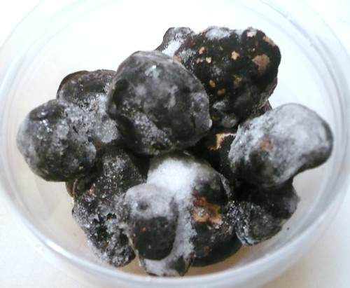 Frozen black truffles from Oregon Mushrooms