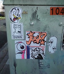 Pass Judgement (Question Josh? - SB/DSK) Tags: streetart la losangeles sticker stickers josh dunn hollywood question try lurk art1 sneak swar questionjosh