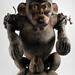 0727:6151a Ape figure, Bulu, Cameroon, Rep of Congo Border region