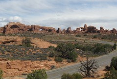 From the Viewpoint (Patricia Henschen) Tags: utah moab archesnationalpark turretarch northwindowarch