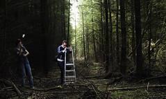Backstage (Jorn Idzerda) Tags: woods flash setup strobist strobistsetup