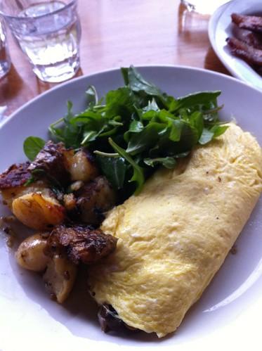 Omelette at Canele