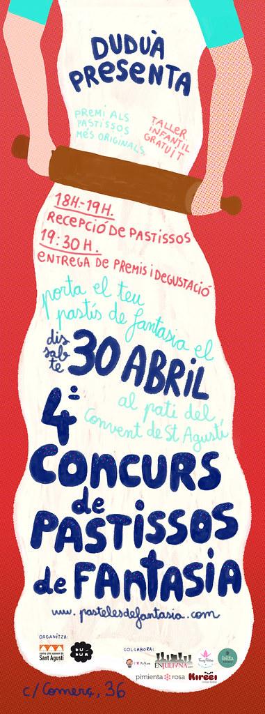 Duduá presenta el 4º Concurso de pasteles de fantasía (30 Abril 2011)