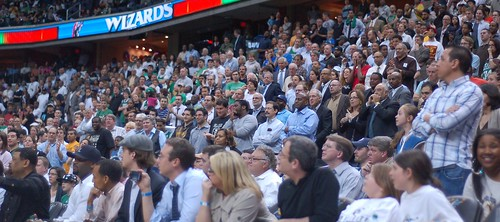 Fans Verizon Center