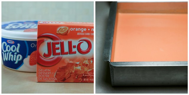 Orange Creamsicle Jello collage 1