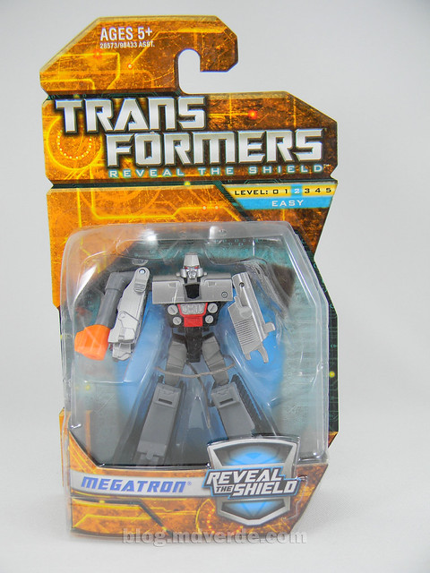 Transformers Megatron Reveal the Shield Legends - caja