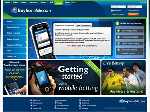Boylesports Sportsbook Lobby