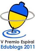 V Premio Espiral Edublogs 2011