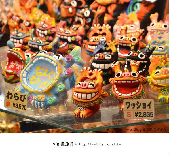 【沖繩必買】跟via到沖繩國際通+牧志公設市場血拼、吃美食!3