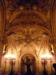 Garnier's Paris Opéra Under Grand Stair