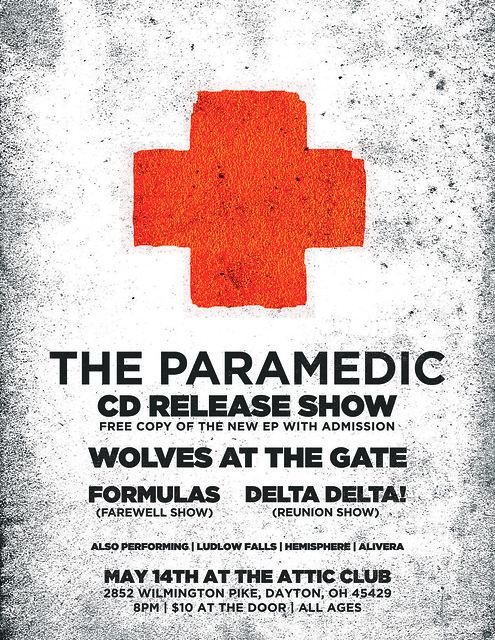 The Paramedic CD Release (Alternate Flier)