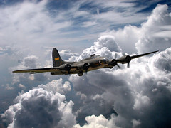 Boeing B-17 (posterboy2007) Tags: usa photoshop wwii b17 boeing bomber