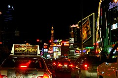 dazzling lights (Luis Eduardo ) Tags: street urban night lights lasvegas nevada luismosquera