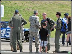Air Force Sponsored Nascar (libraryrivergirl) Tags: texas nascar airforce fortworth texasmotorspeedway car43 samsungmobile500