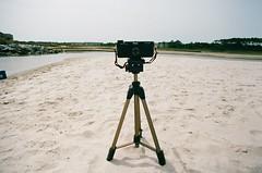 Burke's beach revisited (VLBPhotography) Tags: usa film southcarolina wideangle pinhole filmcamera pinholephotography hiltonheadisland ektar100 holga120wpc burkesbeach