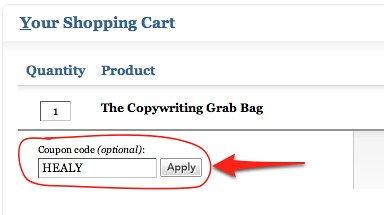 The Copywriting Grab Bag Coupon