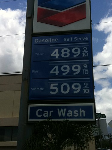 hawaii gas prices 2011. Gas prices on Maui