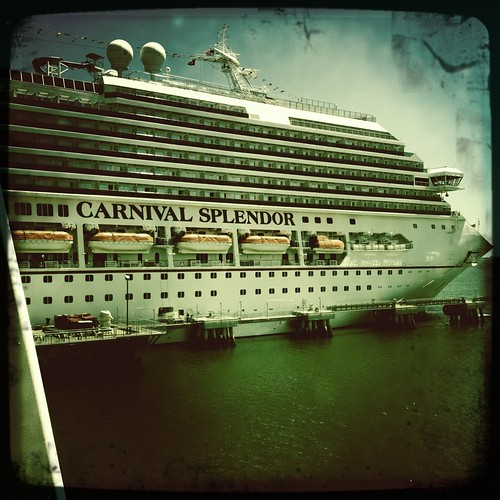 the carnival splendor..my home for the week