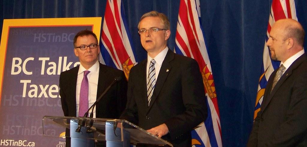 BC talks taxes