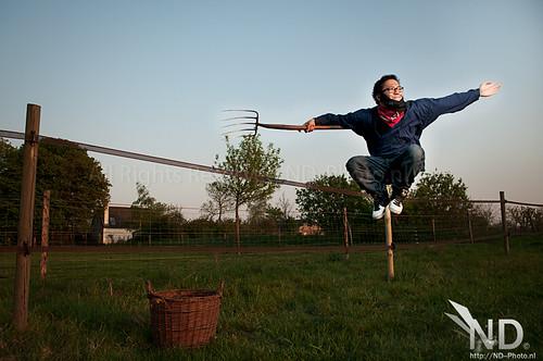 Ninja Farmer (selfportait)
