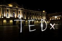 TEDxPlaceDuCapitole Light Painting (TEDxPlaceDuCapitole) Tags: light ted lightpainting idea place du toulouse capitole placeducapitole tedx